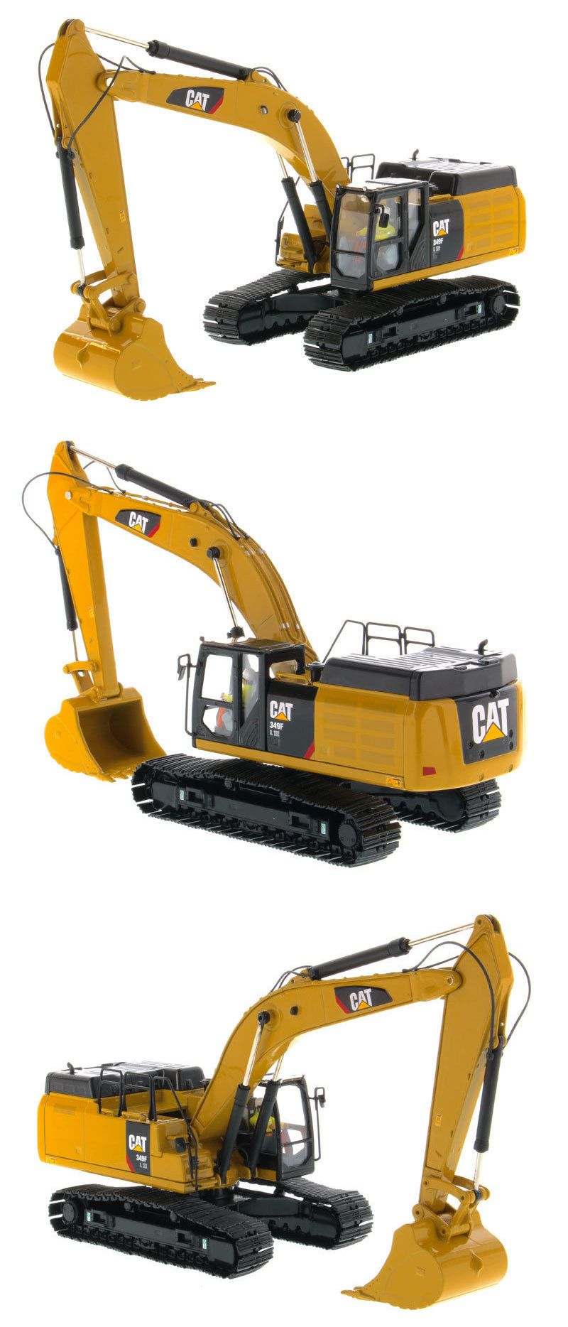 1 50 Caterpillar 349f L Xe Hydraulic Excavator High Line Series Hydraulic Excavator Construction Equipment Excavator