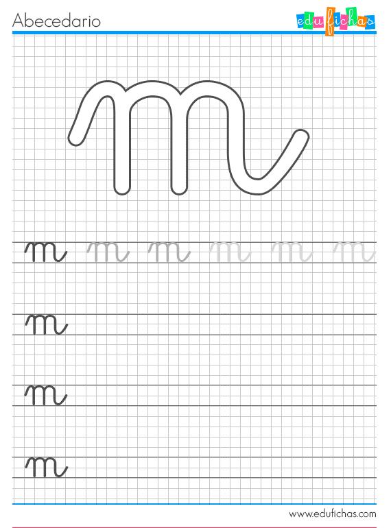 Fichas del abcedario para aprender las letras Abecedario completo