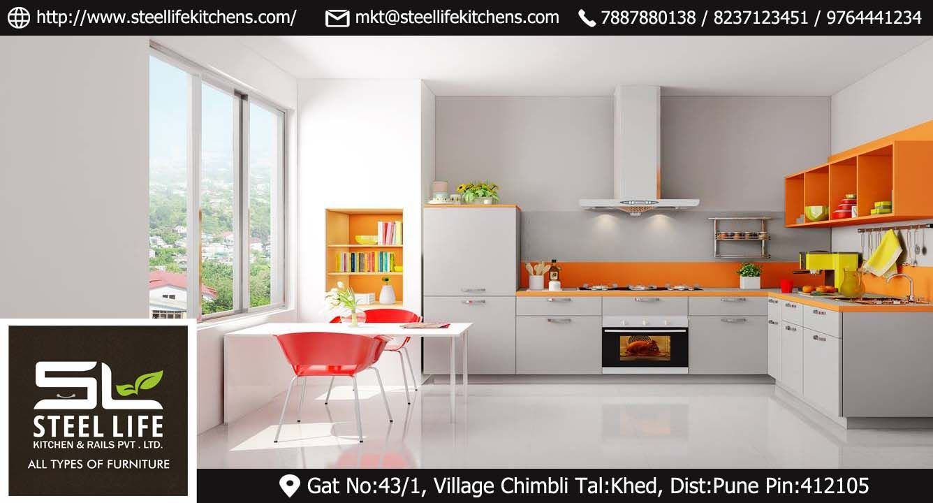 Kitchen Furniture In Steel Life Kitchens Visit Our Office Now