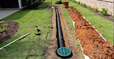 Need Drainage In East Grinstead? Know What To Ask The Experts! | Backyard  drainage, Yard drainage, Downspout drainage