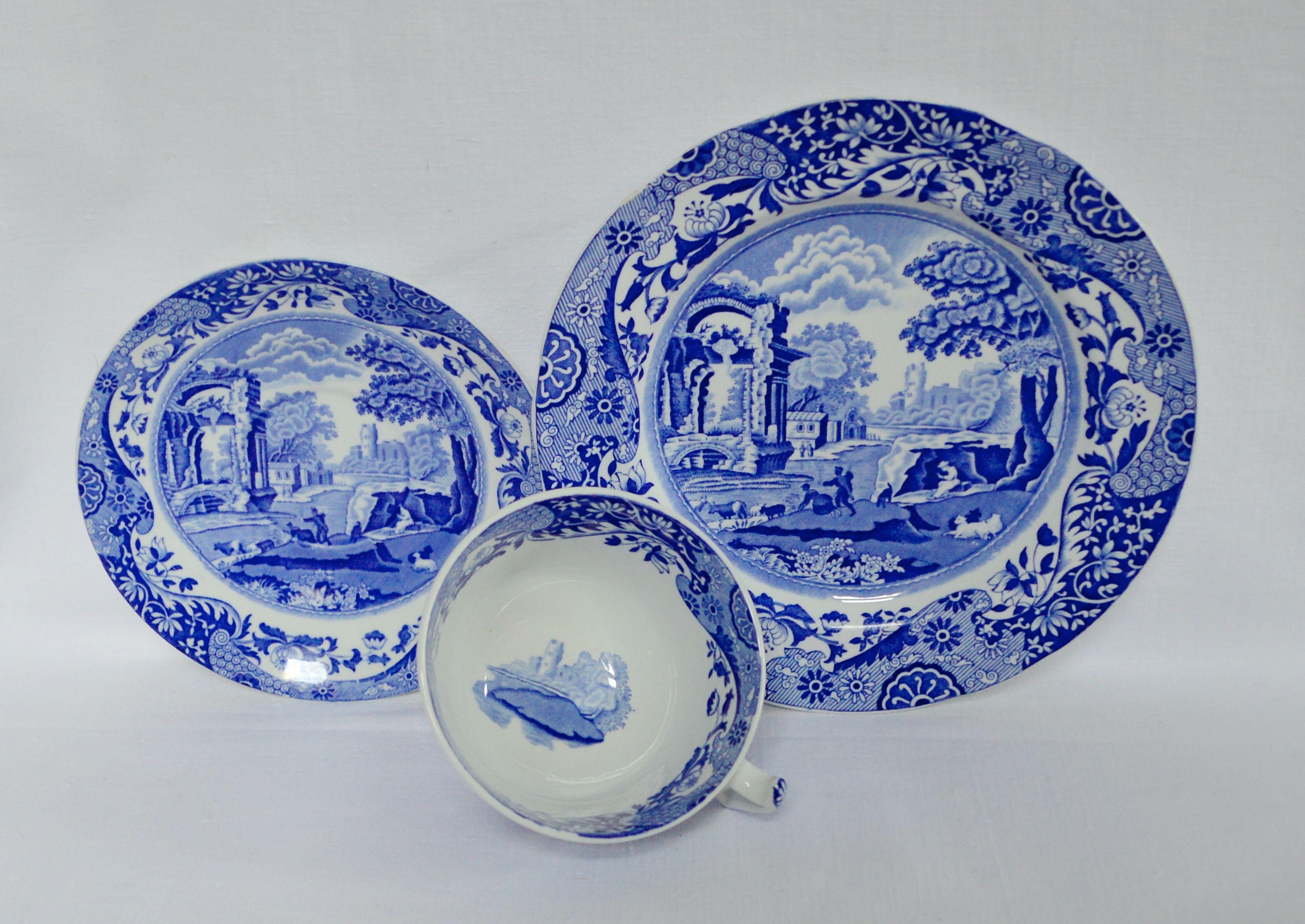 Trio Para Te Copenland Spode Italian England With Images China Tea Sets China Tea Tea Set