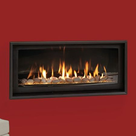 Majestic Serenade Direct Vent Fireplace, Majestic Echelon See Thru Fireplace