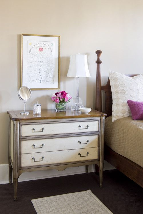 How Tall Should A Nightstand Be In