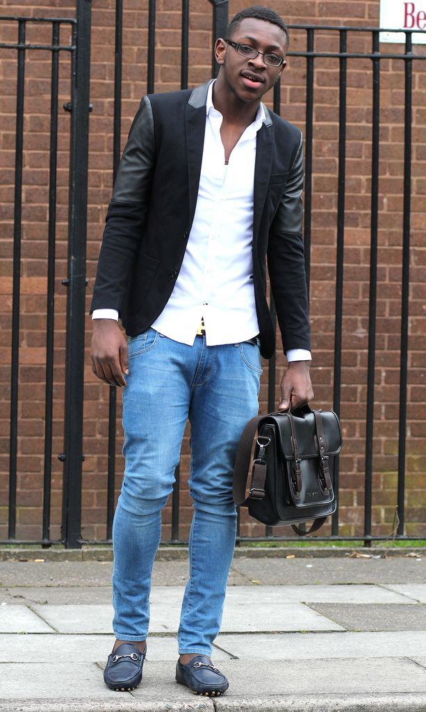 How to wear blazer and skinny jeans