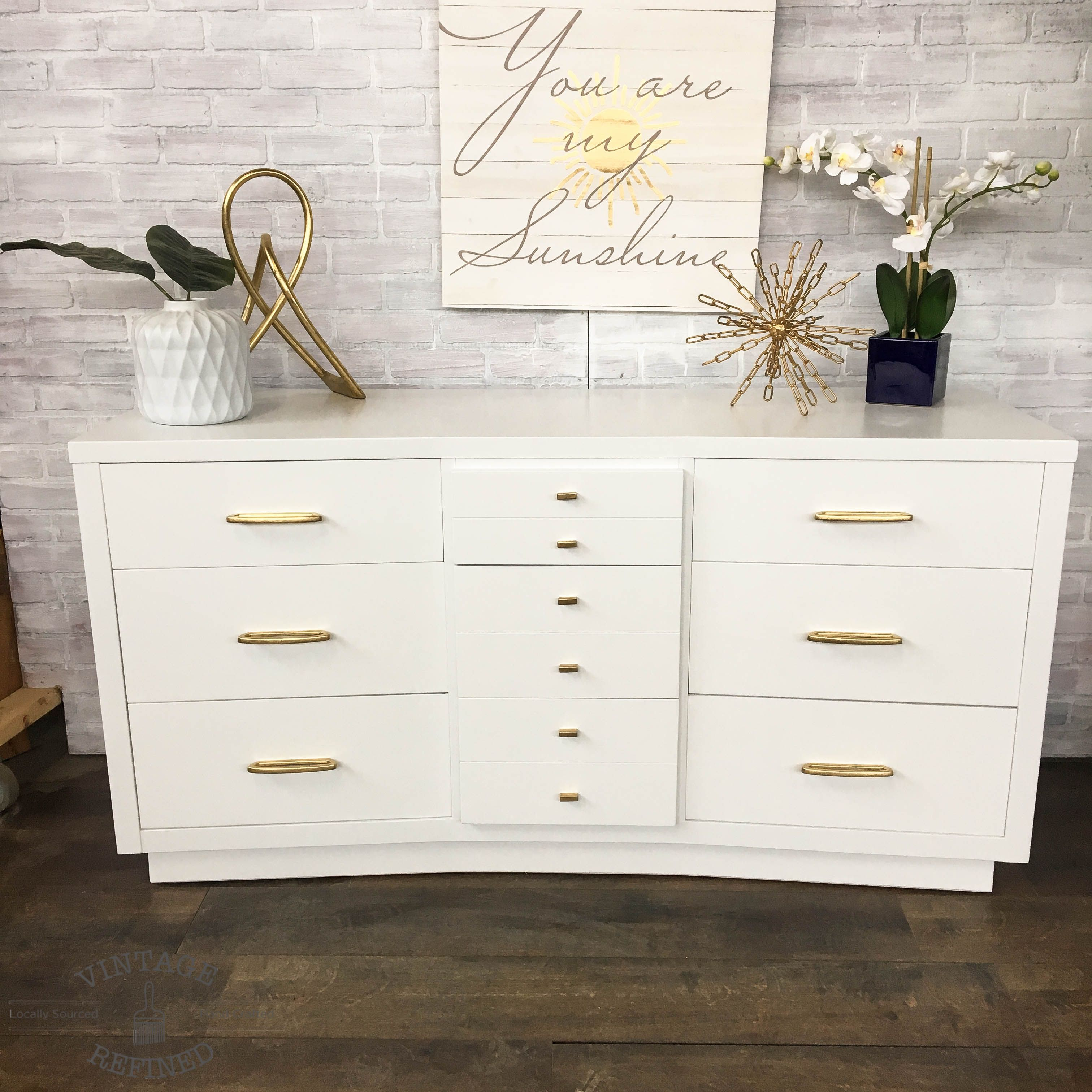 White Lacquer Dresser With Gold Hardware Lacquer Dresser White Lacquer Dresser Flat Pack Furniture