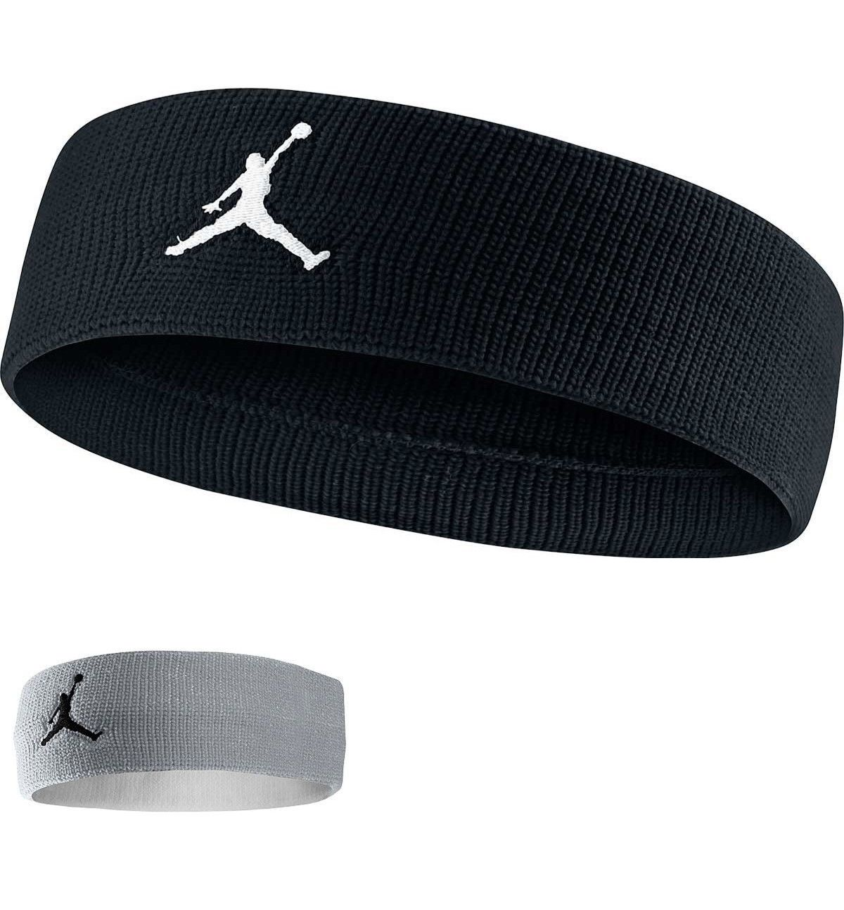 hot sale online 96ffa bb720 Basketball 21194  Nike Jordan Headband Basketball One Size Jumpman Unisex  Black Gray Color -  BUY IT NOW ONLY   11.99 on eBay!