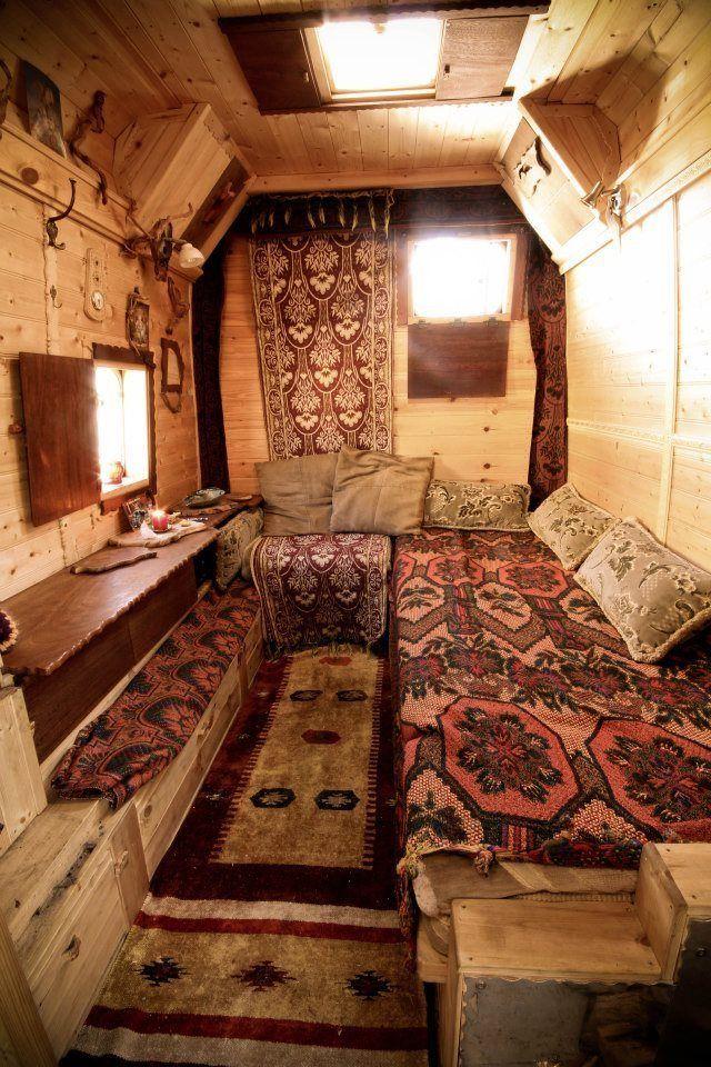 Ford Transit 125 T350 Wooden Living Campervan