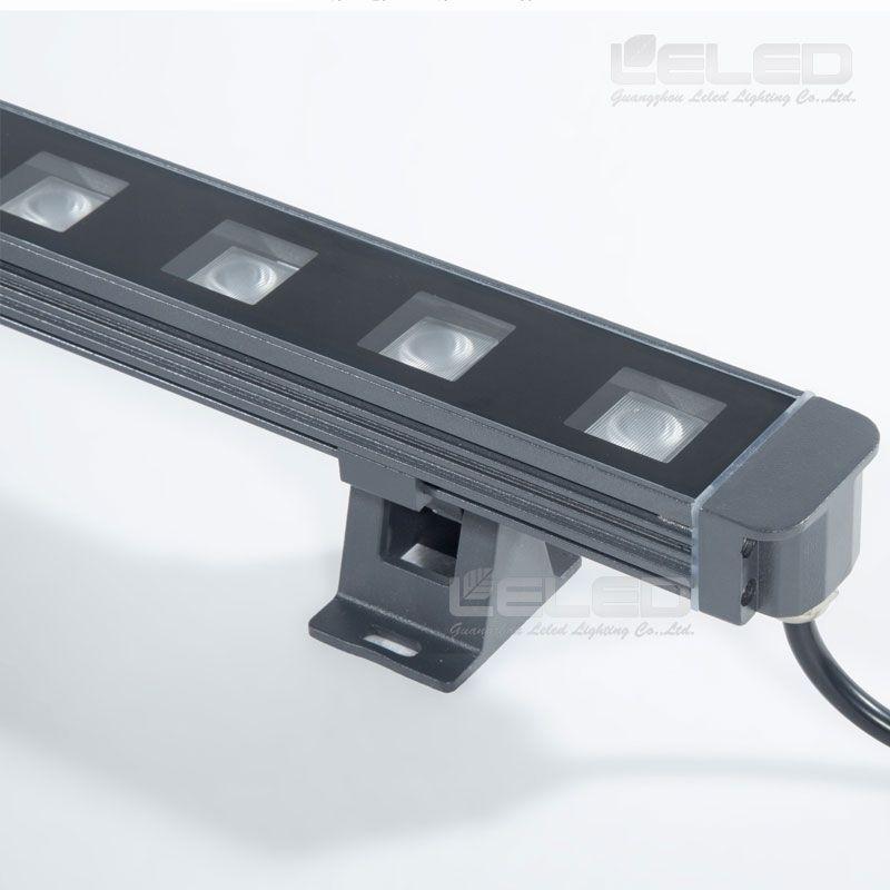 rgb led wall wash lighting fixtures cree dmx 18x3w dc24v led wall