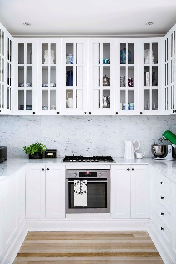 Clever Use Of Space In This All White Kitchen  Home Beautiful Prepossessing Kitchen Design Ideas Australia Decorating Inspiration