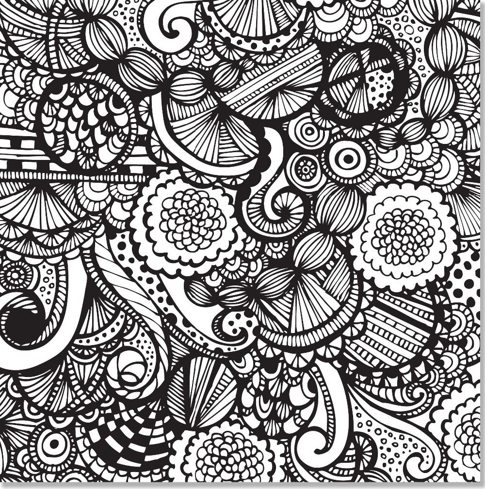 Joyful Designs Artist\'s Coloring Book (31 stress-relieving designs ...