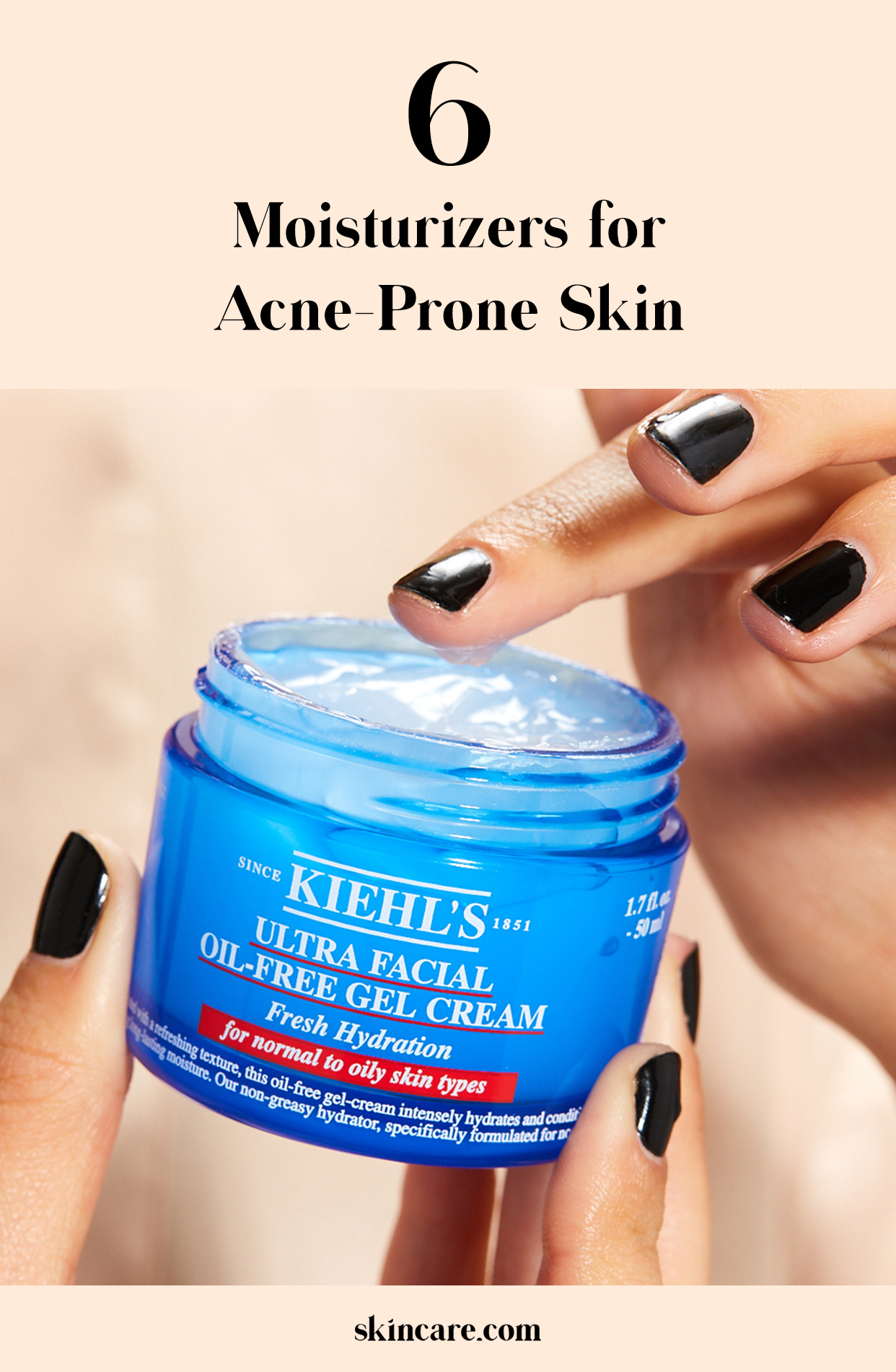 If your skin is oily or prone to acne, a lightweight, non