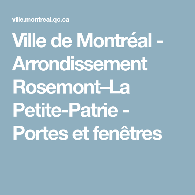 impot rosemont