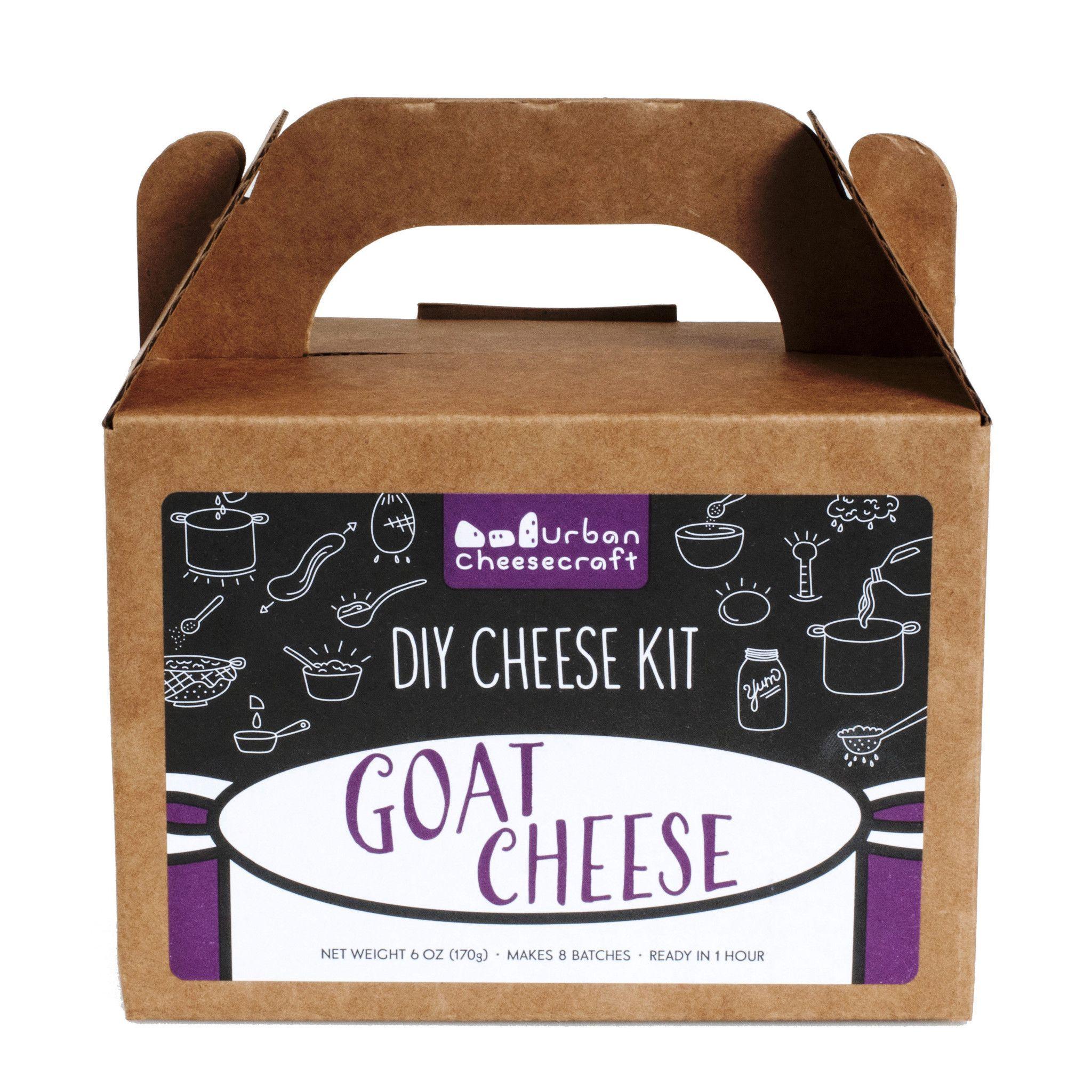 Urban Cheesecraft DIY Kit · Goat Cheese – Shop Andrew Zimmern