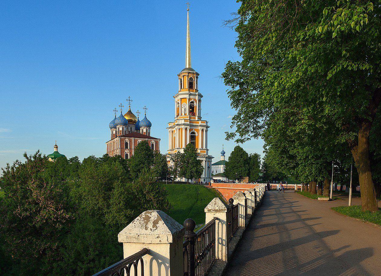 точки зрения фото рязанского кремля узнать