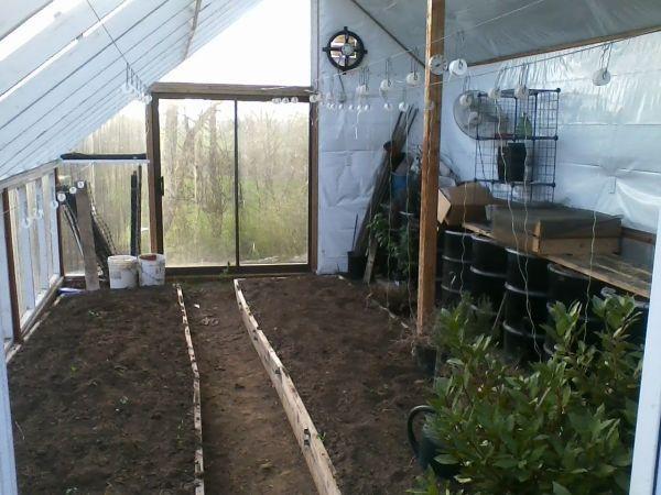 My Passive Solar Greenhouse | Earthineer