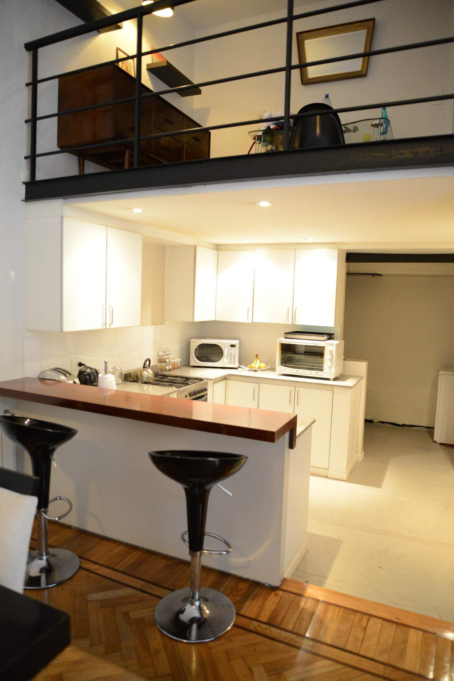 Desayunador casa pinterest cocinas almacenamiento for Desayunador para cocina