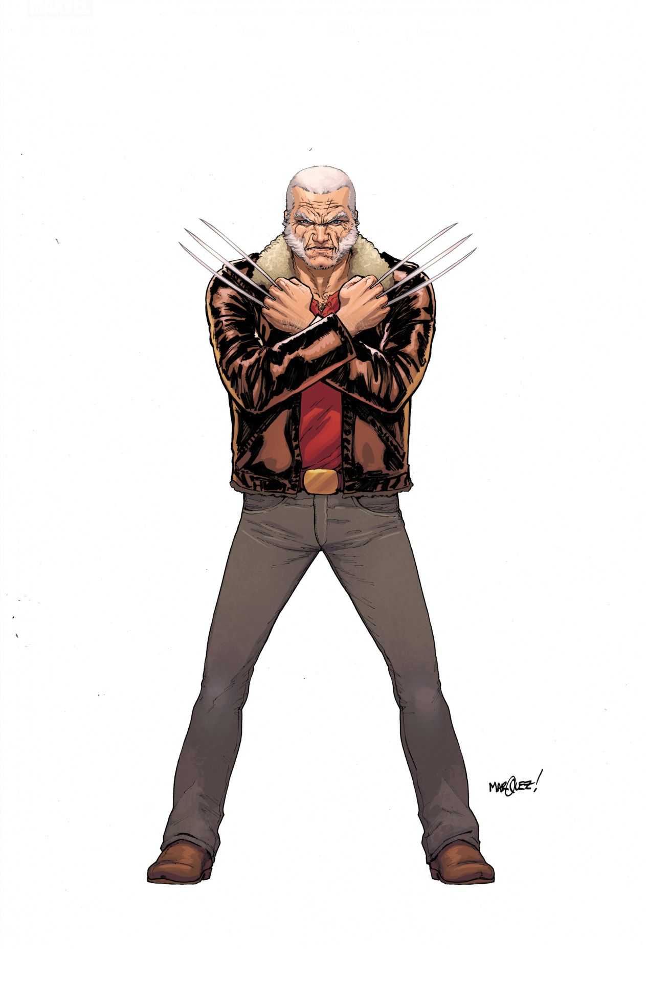 All New, All Different Marvel - Old Man Logan (Wolverine) by David Marquez
