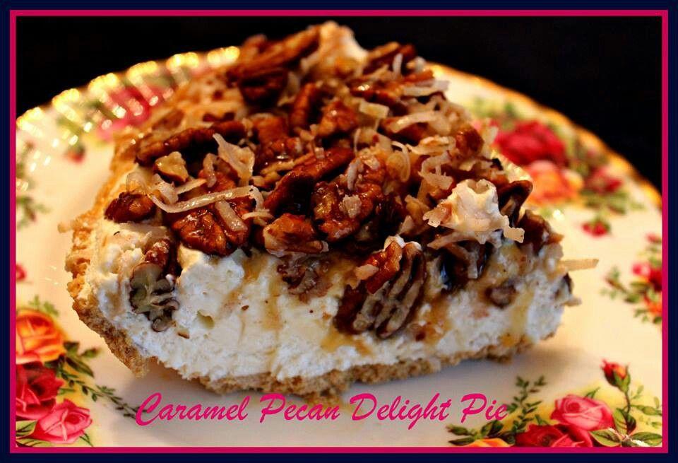 Caramel pecan pie Desserts, Eat dessert, Caramel pecan