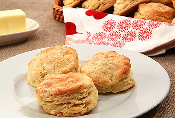 Buttermilk Biscuits recipe! Fill them with cheese or apples, be creative!
