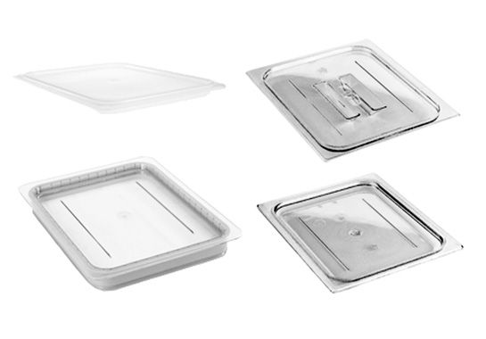Camwear Polycarbonate Gn Food Pan Lids Food Storage Food Polycarbonate