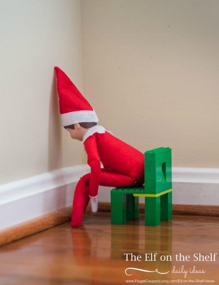 Elf on the Shelf Ideas | Elf Timeout