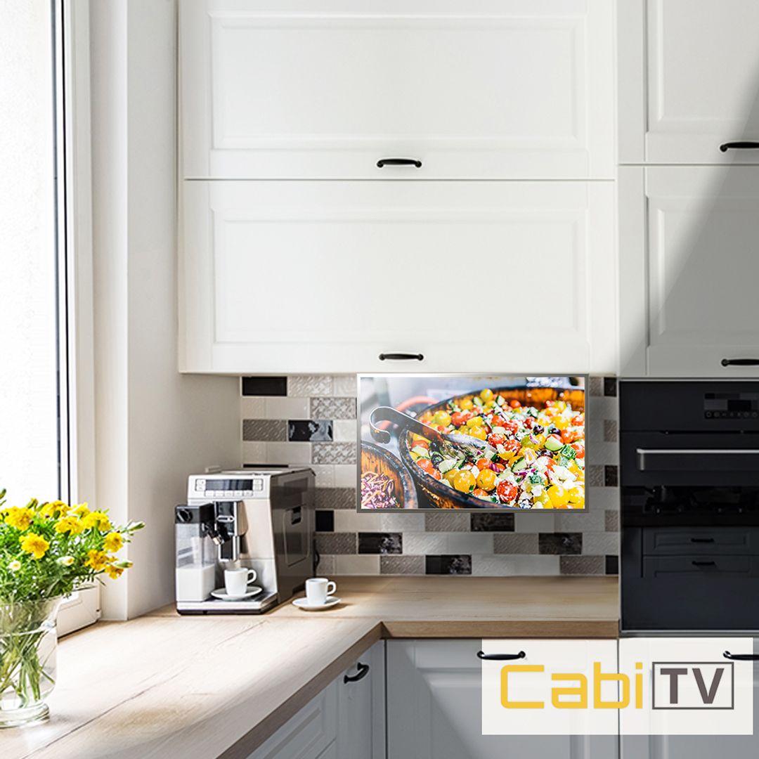 Cabitv Ct100 Tv In Kitchen Kitchen Smart Kitchen