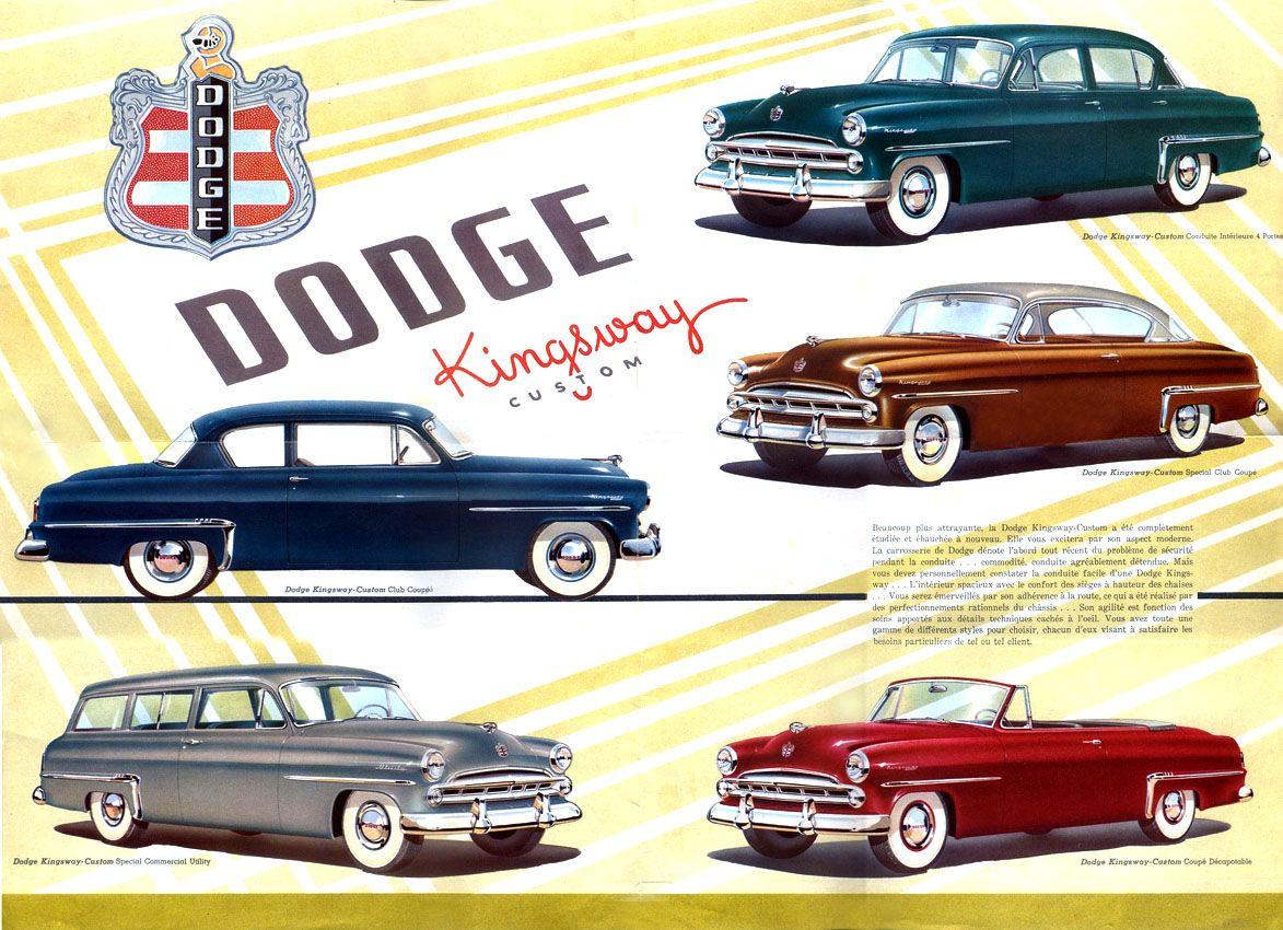 Auto brochure1953 dodge kingsway dodgeduesenberg r auto brochure1953 dodge kingsway publicscrutiny Gallery