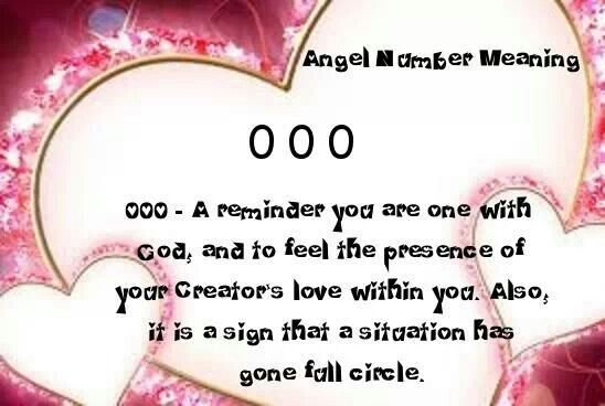 Numerology: Angel Number 000 Meaning | #numerology