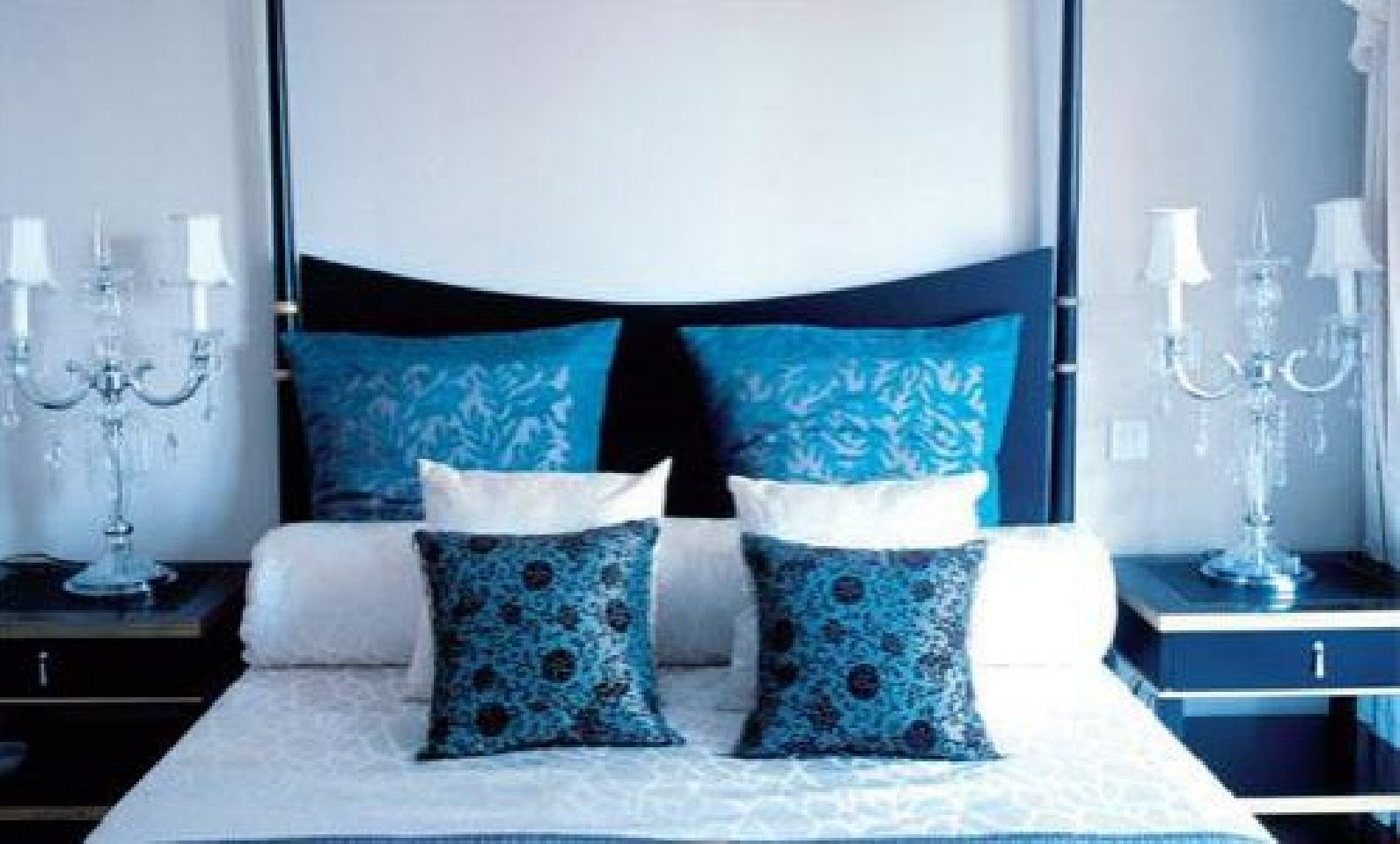 Design girls bedroom cute blue and white modren master bedroom
