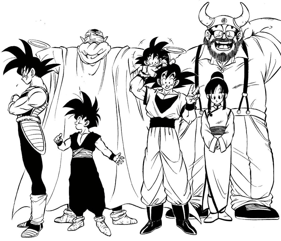 The Son Family Yes You Too Piccolo Songokukakarot Anime Dragon Ball Super Dragon Ball Super Manga Dragon Ball Art