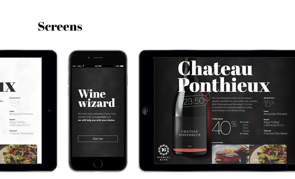 Smart Wine Shelf on Web Design Served