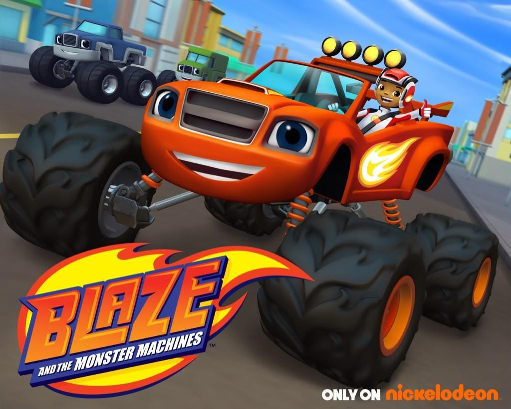 Blaze and the Monster Machines Colouring Pages and Twitter Party