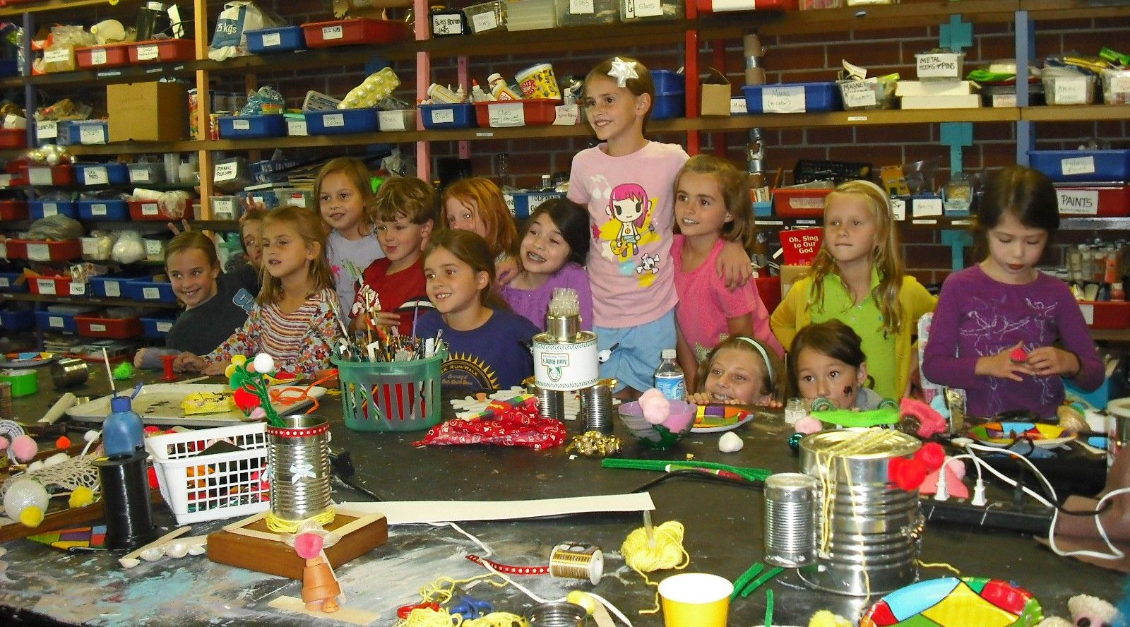 Resource Warehouse & Gallery ArtyParty! Great place to take your kids to have fun doing Arts and Crafts.
