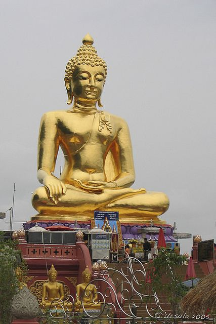 Golden Buddha . Thailand