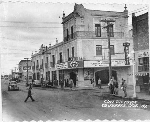 Cine Victoria. Ciudad Juárez. Sun city, Juarez