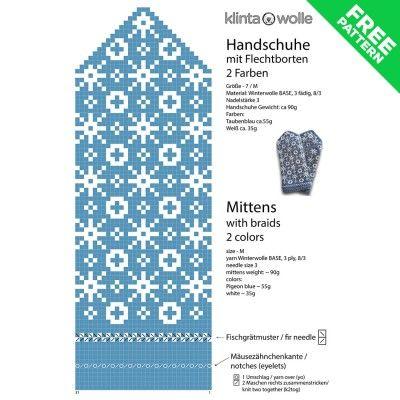 Photo of Handschuhe – Lettische Fäustlinge Strickmuster #03 kostenlos pdf