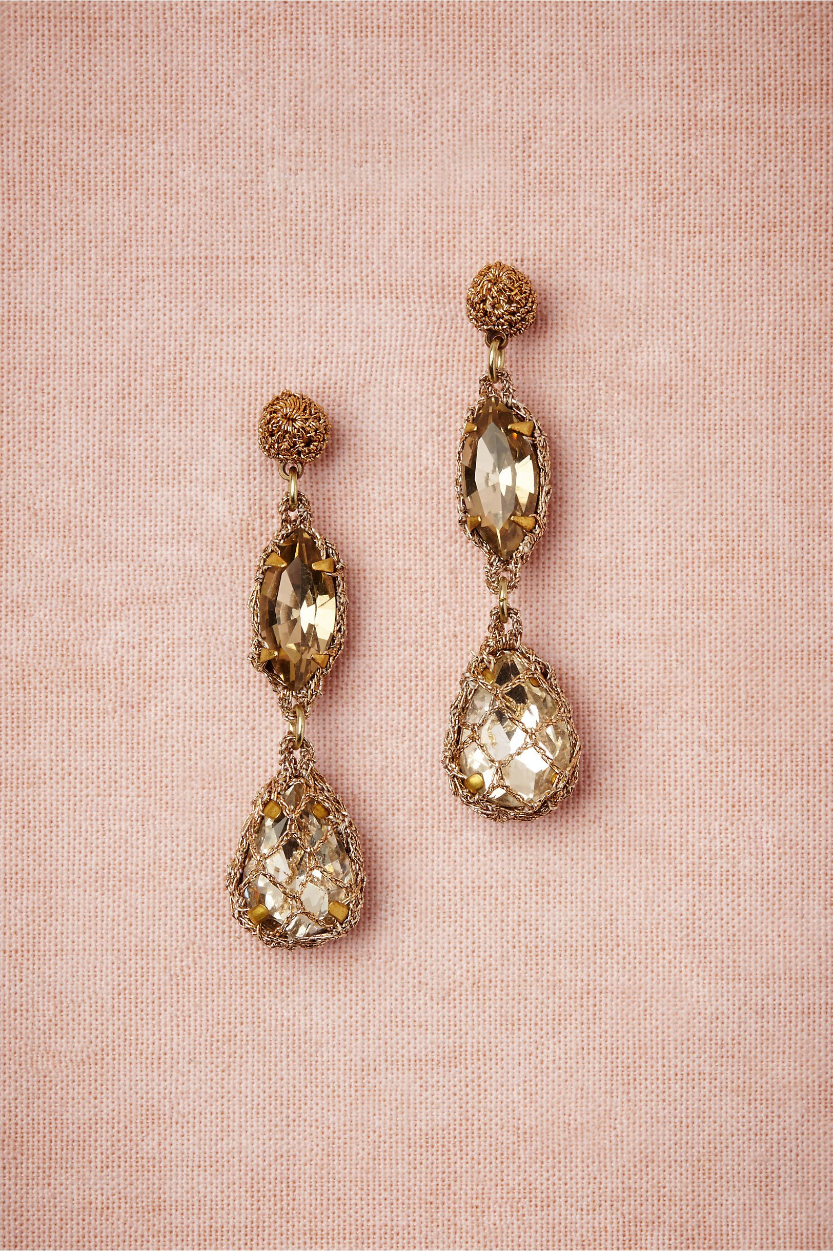 Demure Sparkle Earrings in Bridal Party & Guests Bridesmaids Jewelry ...