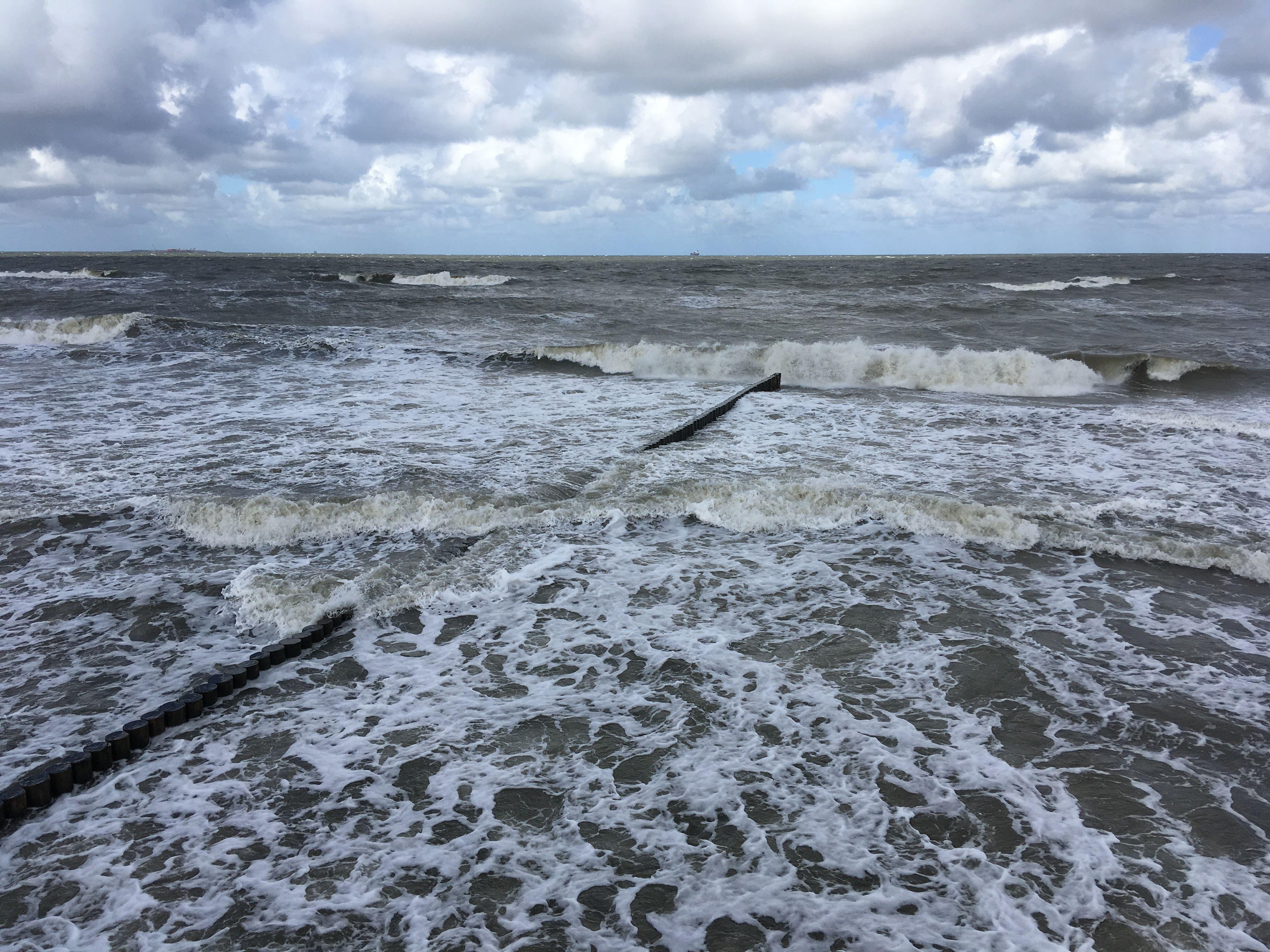 Балтика немного волнуется