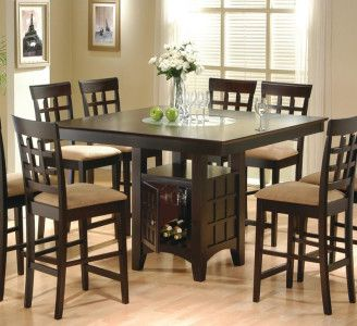 bar height dining table set kitchen remodel dining dining room rh pinterest com au