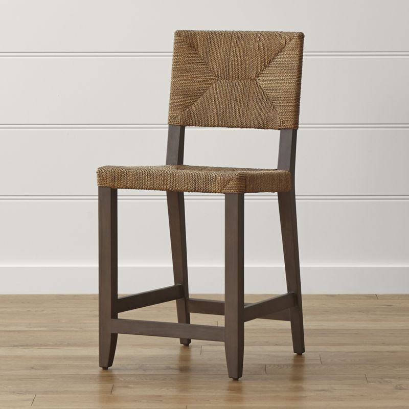 Fiji Counter Bar Stool At Crate And Barrel Browse Wooden