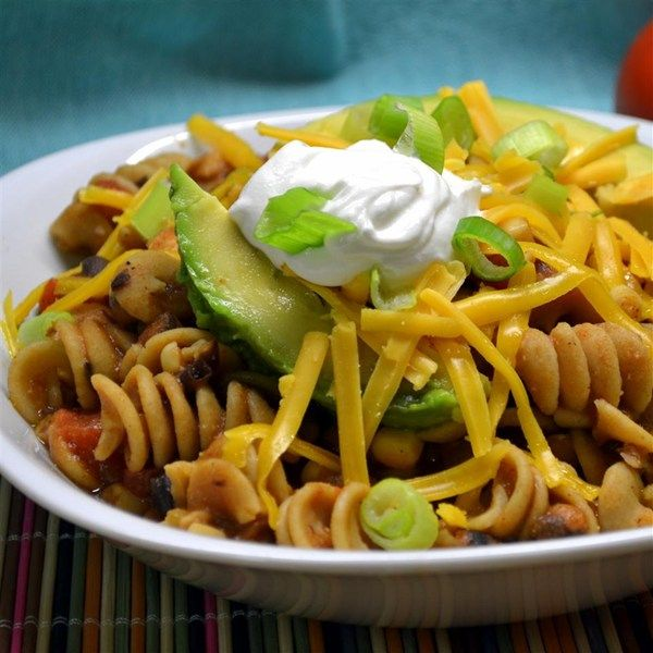 """Carole's Chili Mac 