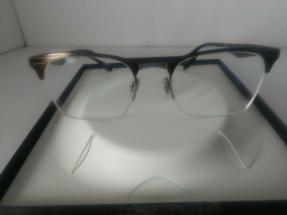 Ray Ban Rimless Eyeglasses Shiny Brown