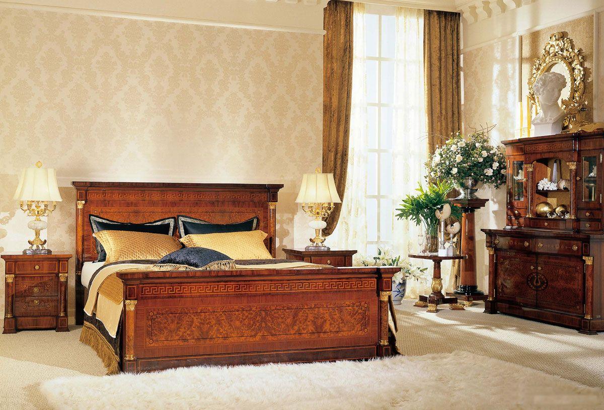 Belinda Classic Bed Set Traditional Bedroom Classic Bedroom
