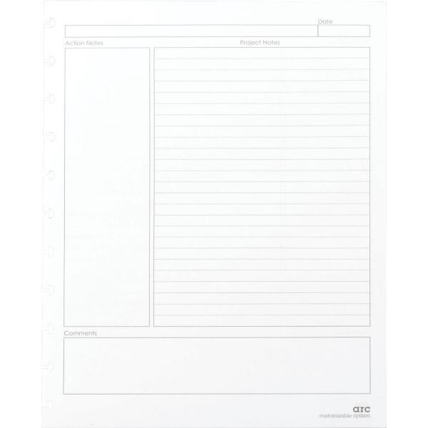 M By Staples™ Arc System Project Planner Premium Refill