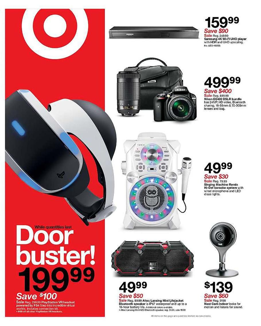 Target Black Friday 2017 Ad Scan Deals And Sales Black Friday