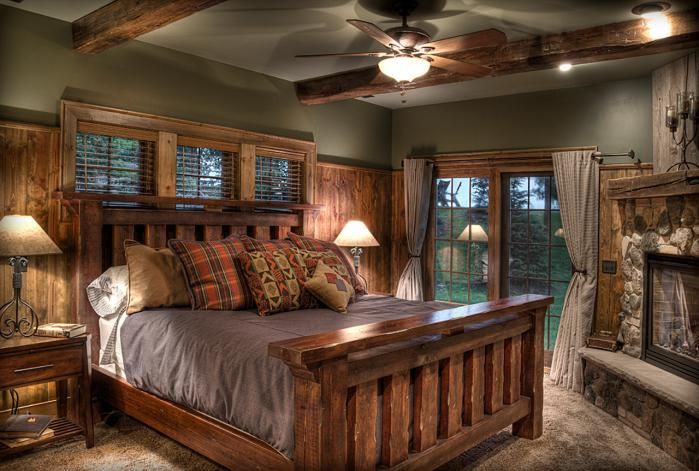 Pin by Sara Hale on Future | Rustic master bedroom, Rustic ...