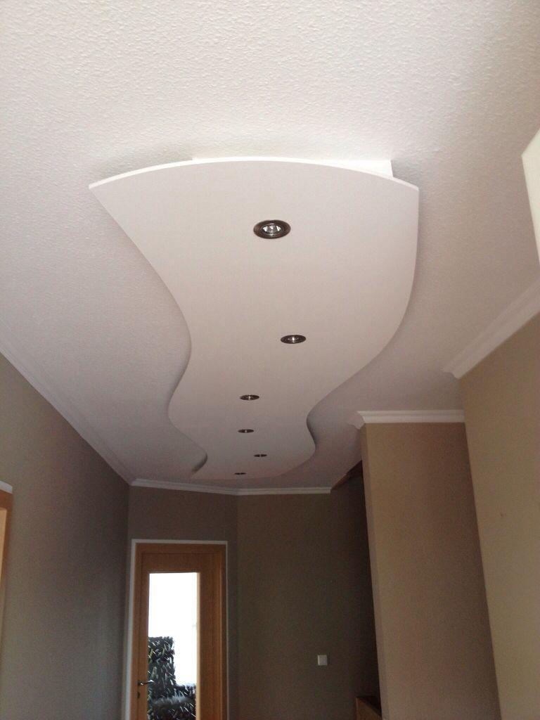 Lisego Deckensegel LisegoWave 400cm X 80cm Mit LED Spots Und Indirekter  Beleuchtung, Flurbeleuchtung, Bausatz, Sonderanfertigungen ...