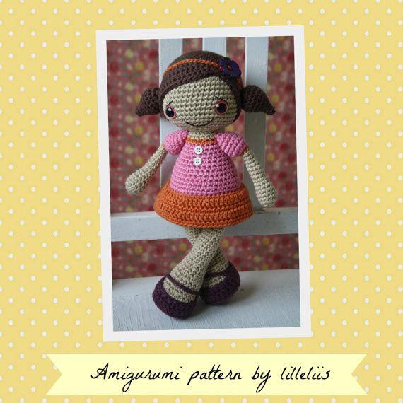 PATTERN  Sofia doll crochet amigurumi by lilleliis on Etsy, $6.50