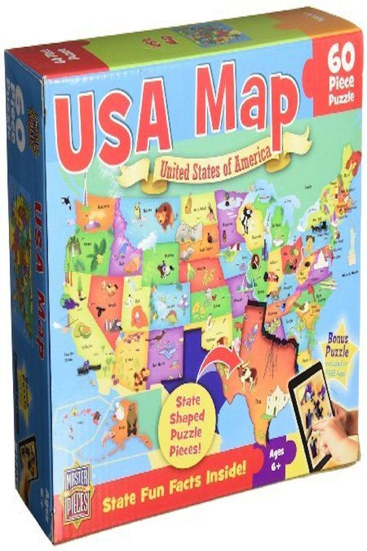 MasterPieces USA Map Jigsaw Puzzle Puzzles