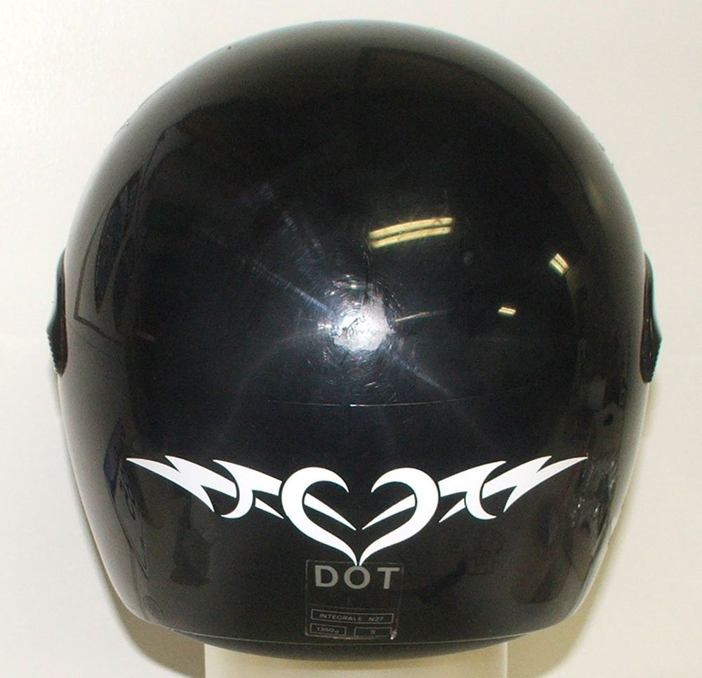 TRIBAL HEART REFLECTIVE DECAL Sticker For Motorcycle Helmet Tank - Vinyl decals for motorcycle helmets